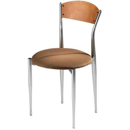 Our Cafe Twist Maple Ply Wood Back and Upholstered Seat Chair is on sale now.