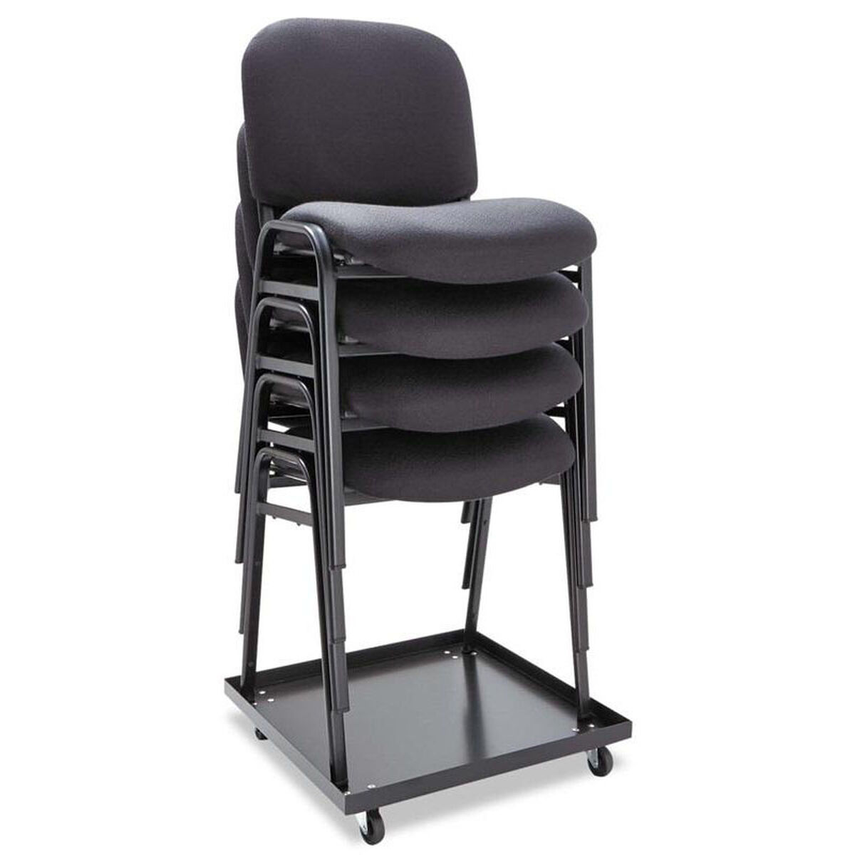 stack chair fabric black 4 box alesc67fa10b stackchairs4less com