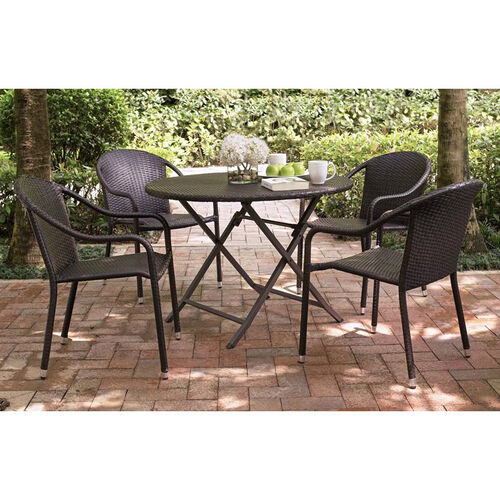 Our Palm Harbor Outdoor Wicker Stackable Chairs - Set of 4 is on sale now.