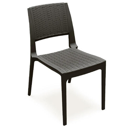 Verona Outdoor Wickerlook Resin Stackable Dining Chair