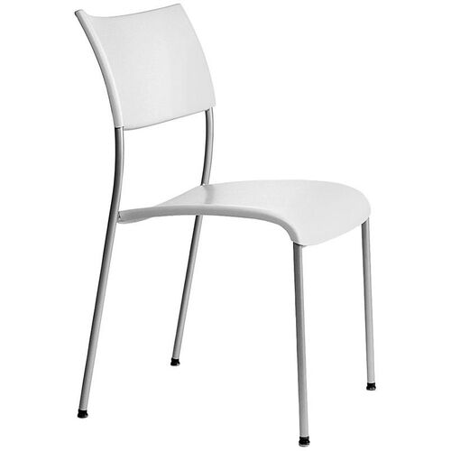 Open End Molded Back and Seat Stack Chair