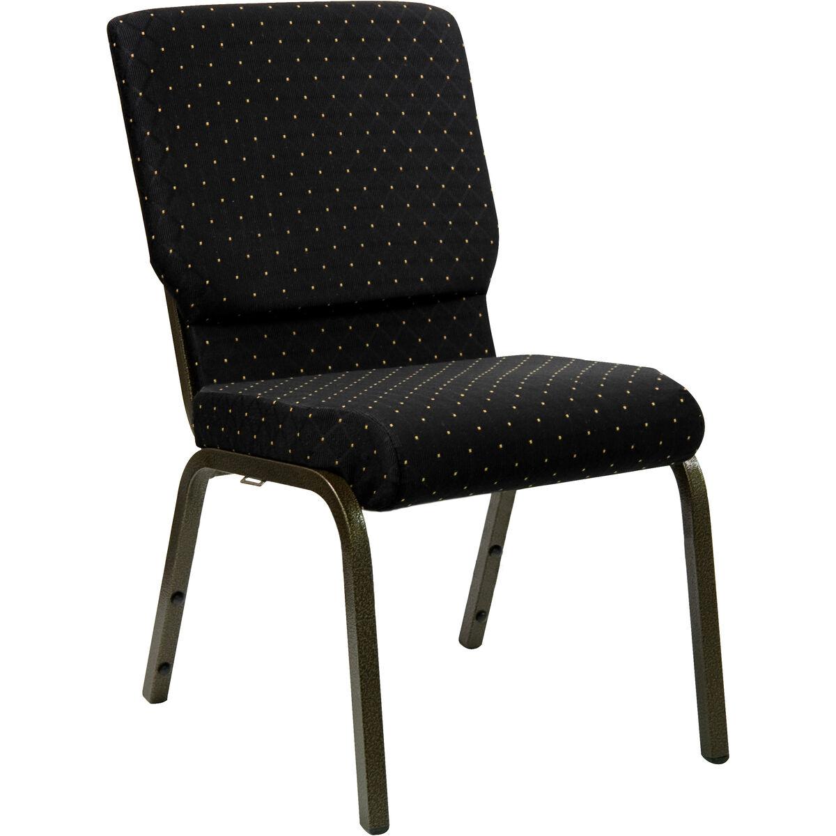 black dot fabric church chair xu ch 60096 bk gg stackchairs4less com