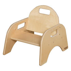Woodies Stackable Tot Chair with Convenient Carrying Handle - Assembled - 16.75