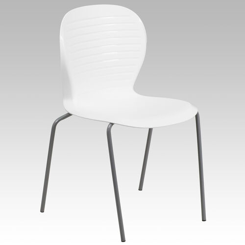Our HERCULES Series 551 lb. Capacity White Stack Chair is on sale now.