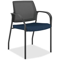 The HON Company Stacking Mesh Back Multipurpose Chair with Mariner Seat