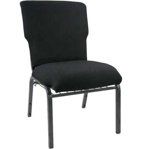 Our Advantage Black Church Chair 20.5 in. Wide is on sale now.