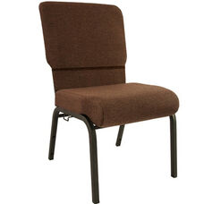 Advantage Java Church Chair 20.5 in. Wide