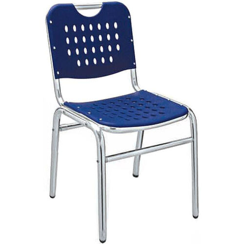 Palm Beach Collection Stackable Outdoor Side Chair - Blue