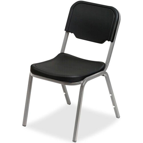 Rough N Ready Stack Chair - Set of Four - Black