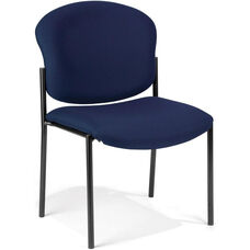 Manor Guest and Reception Chair - Navy Fabric