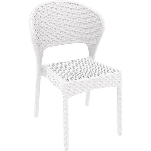 Our Daytona Outdoor Wickerlook Resin Dining Chair - White is on sale now.