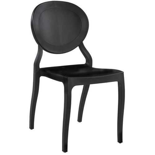 Our Emma Resin Polypropylene Stackable Event Chair - Black is on sale now.