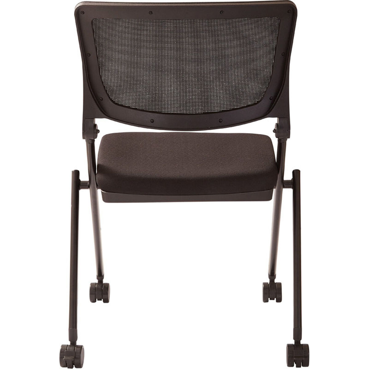 set of 2 work smart nesting chair fc8433 231 stackchairs4less com