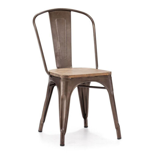 Our Elio Chair in Rustic Wood is on sale now.