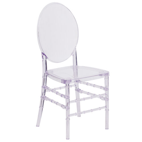 """Our Flash Elegance Crystal Ice Stacking Florence Chair with <span style=""""color:#0000CD;"""">Free </span> Cushion is on sale now."""