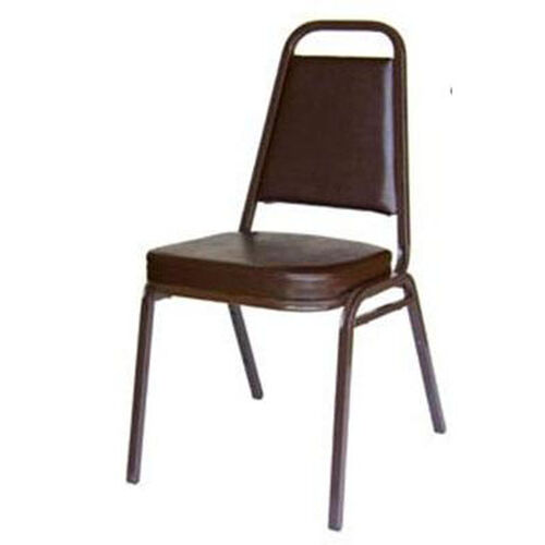 Our Montour Stacking Chair - Brown Frame and 2 inch Brown Vinyl Seat is on sale now.