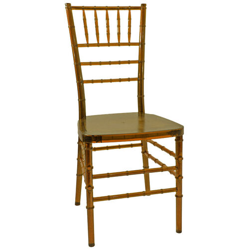 1000 lb. MAX Crystal Resin Steel Core Chiavari Chair