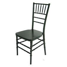 1000 lb. MAX Resin Steel Core Chiavari Chair - Set of 2 - Charcoal Grey