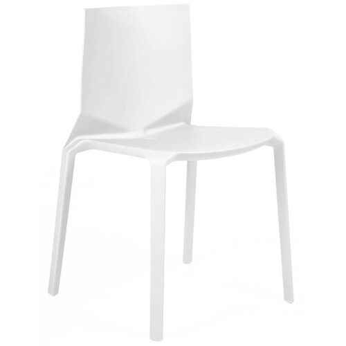 Our Vector White Modern Stackable Side Chair - Set of 4 is on sale now.