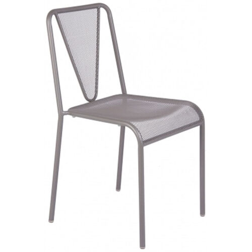 Our Venice Beach Micro Mesh Stacking Side Chair - Titanium Silver is on sale now.