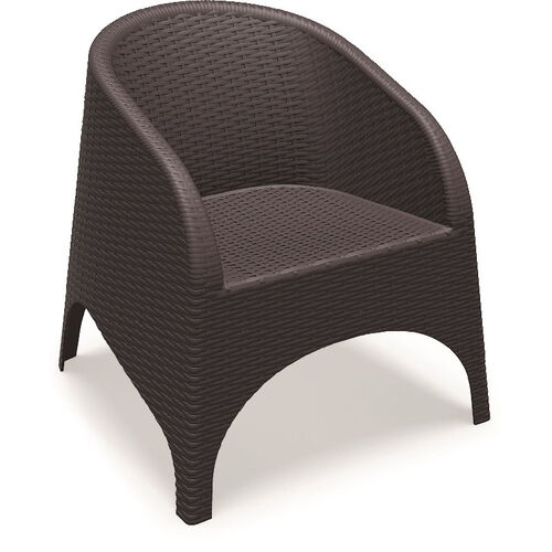Aruba Wickerlook Resin Club Arm Chair