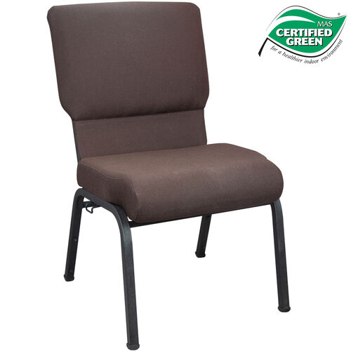 Our Advantage 20.5 in. Mahogany Molded Foam Church Chair is on sale now.