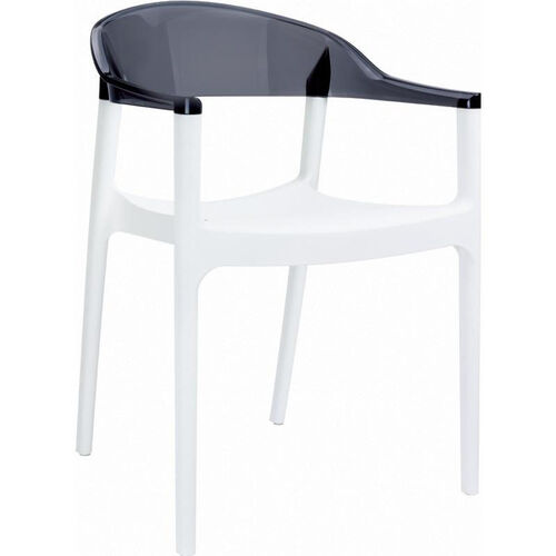 Our Carmen Modern Polypropylene Stackable Dining Arm Chair is on sale now.