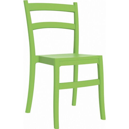 Our Tiffany Outdoor Resin Cafe Style Stackable Dining Chair - Tropical Green is on sale now.
