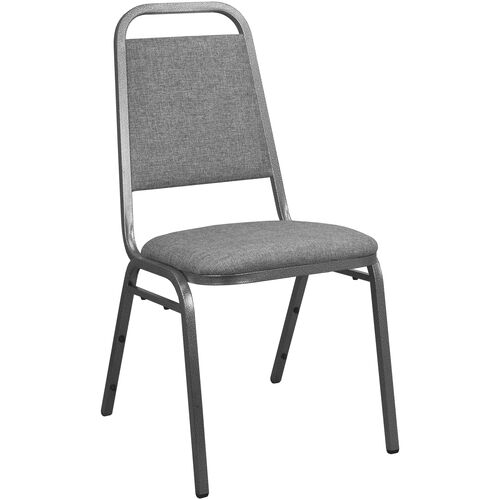 Our Advantage Charcoal Gray Fabric-Padded Banquet Stackable Chairs is on sale now.