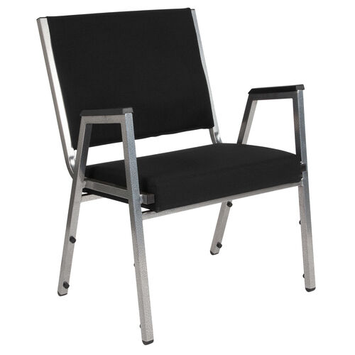 Our HERCULES Series 1500 lb. Rated Black Antimicrobial Fabric Bariatric Medical Reception Arm Chair is on sale now.