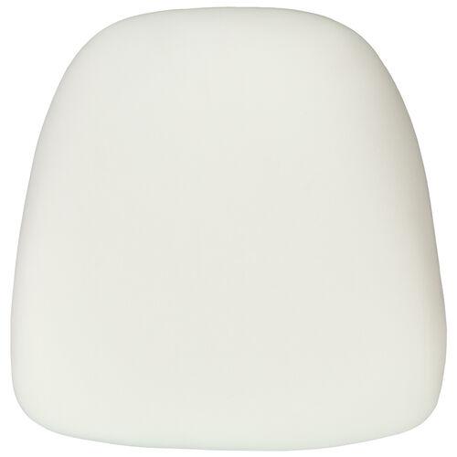 Hard Ivory Fabric Chiavari Chair Cushion