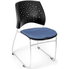 Stars Stack Chair - Colonial Blue Seat Cushion
