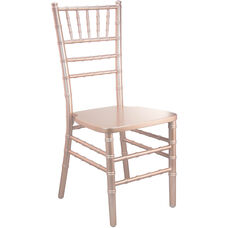 Advantage Rose Gold Chiavari Chair