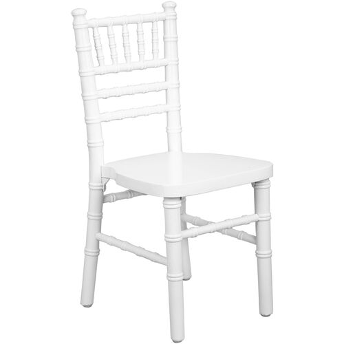 Our Advantage Kids White Wood Chiavari Chair is on sale now.