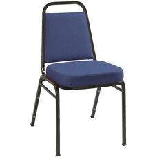 800 Series Stacking Armless Hospitality Chair with Trapezoid Back and 2'' Upholstered Seat