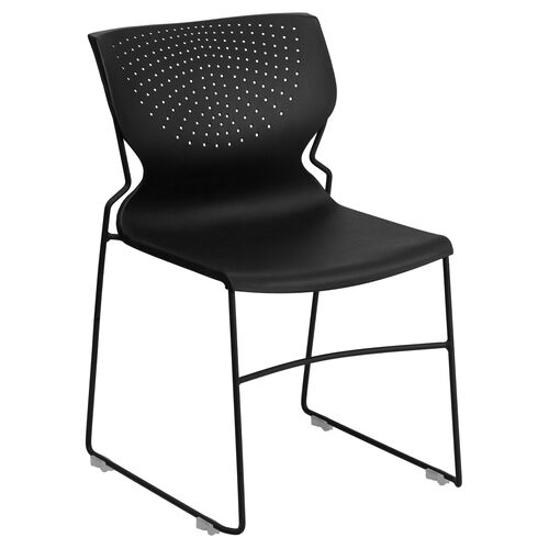 Our HERCULES Series 661 lb. Capacity Black Full Back Stack Chair with Black Frame is on sale now.