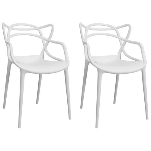 Our Plastic Indoor Loop Chair - Set of 2 is on sale now.