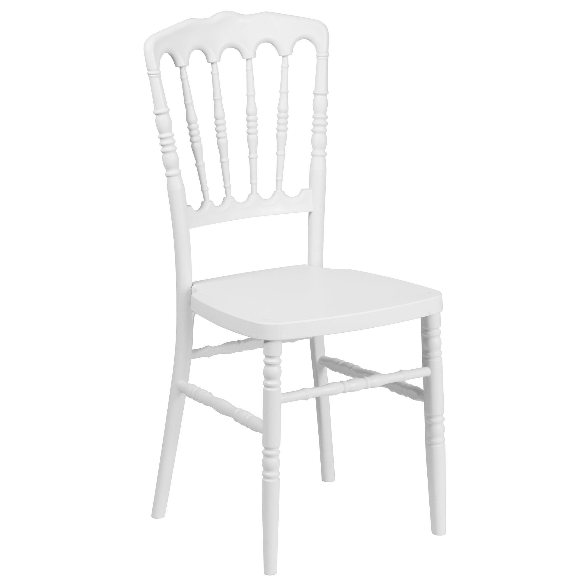 Awe Inspiring Hercules Series White Resin Stacking Napoleon Chair With Free Cushion Creativecarmelina Interior Chair Design Creativecarmelinacom
