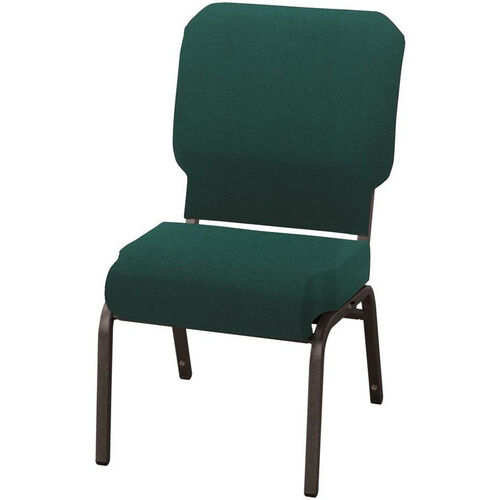 Our 1030 Series Stacking Steel Frame Armless Pew Chair with 3