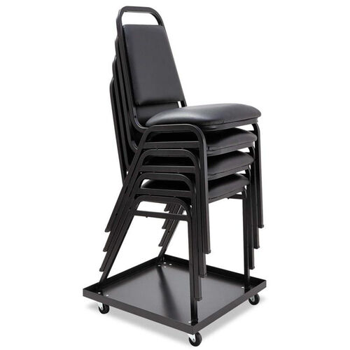 Our Alera® Stacking Chair Dolly - 22-1/2w x 22-1/2d - Black is on sale now.