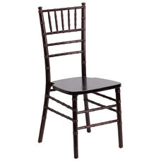HERCULES Series Walnut Wood Chiavari Chair