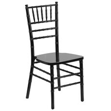 HERCULES Series Black Wood Chiavari Chair
