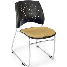 Stars Stack Chair - Golden Flax Seat Cushion