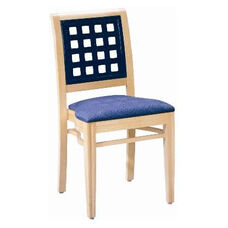 593 Stacking Chair w/ Upholstered Seat - Grade 2