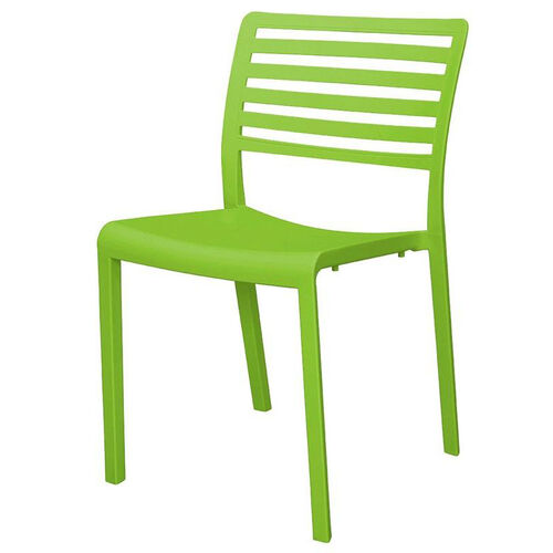 Our Savannah Outdoor Stackable Armless Side Chair - Green is on sale now.
