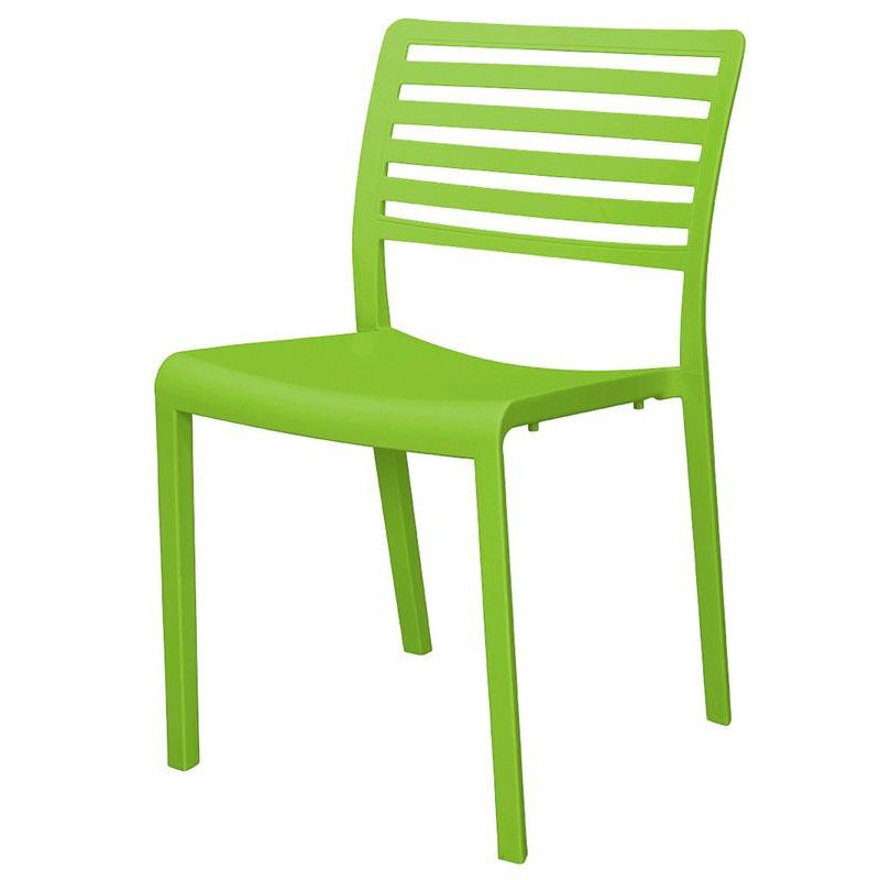 ... Our Savannah Outdoor Stackable Armless Side Chair   Green Is On Sale  Now.