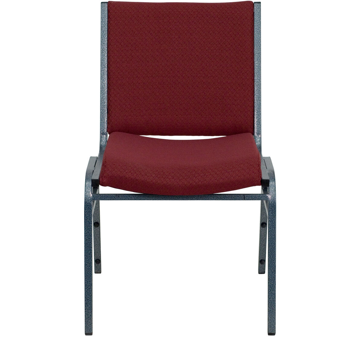 hercules series heavy duty burgundy patterned fabric stack chair inset 3. Black Bedroom Furniture Sets. Home Design Ideas