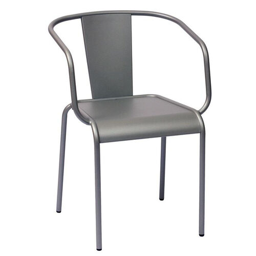 Our Tara X Stackable Outdoor Arm Chair Titanium Silver is on sale now.