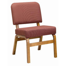 3845 Fellowship Chair with Upholstered Back & Seat - Grade 1