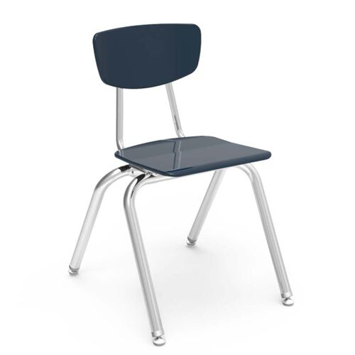 Quick Ship 3000 Series Hard Plastic Stack Chair with 16